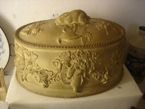 Wedgwood pottery replacement for pastry case